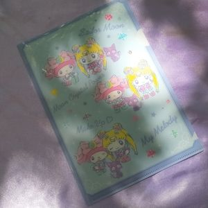 Sailor Moon × My Melody Mini Plastic File Holder